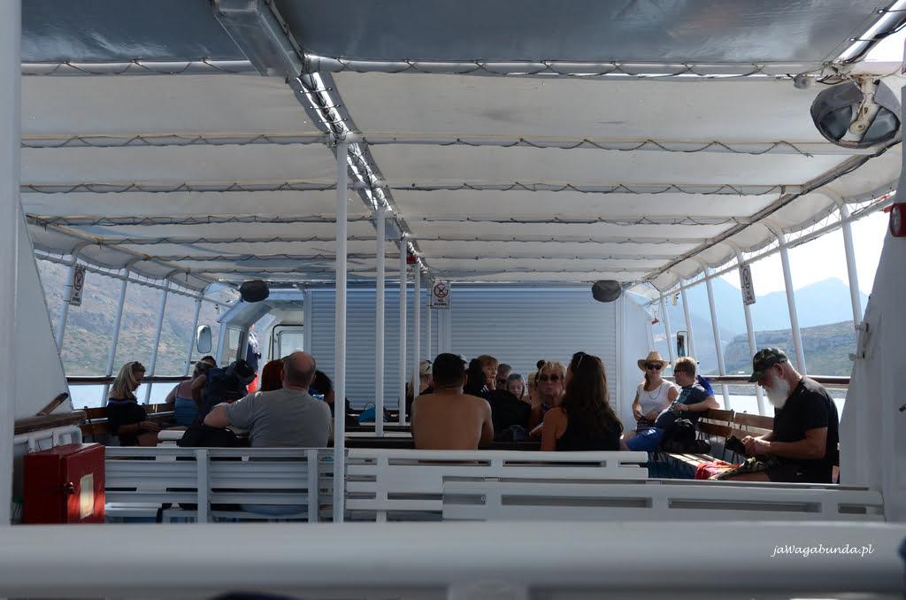 statek na lagunę Balos