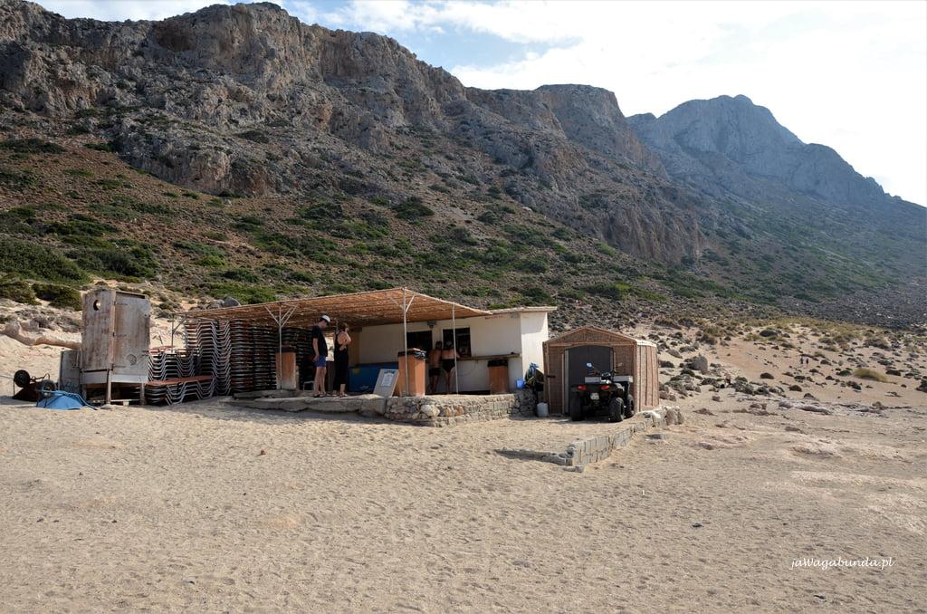 plaża Balos restauracja