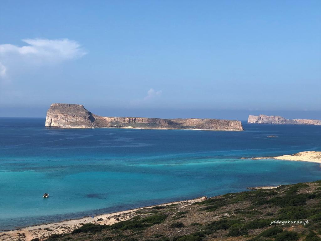 wyspa Gramvousa i twierdza