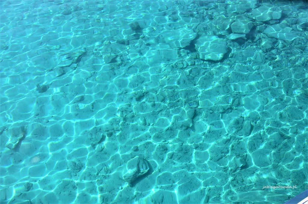 laguna Balos turkusowa woda