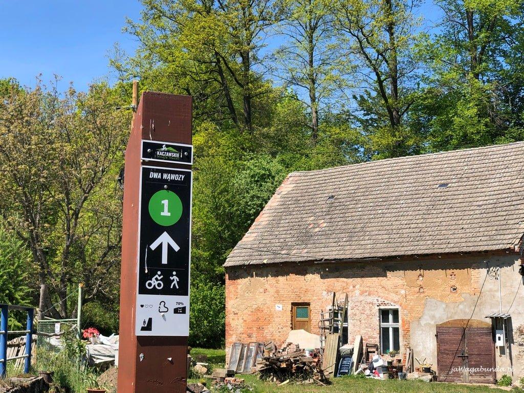 singletrack kaczawy oznaczenie trasy