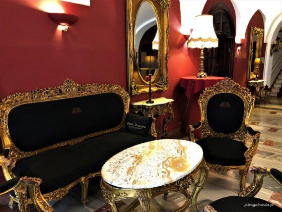 Wnętrze pałacu w Brunowie