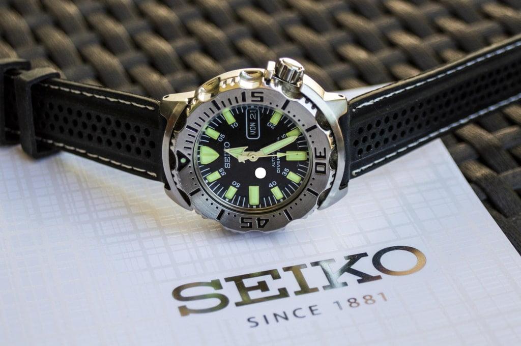 zegarek firmy seiko