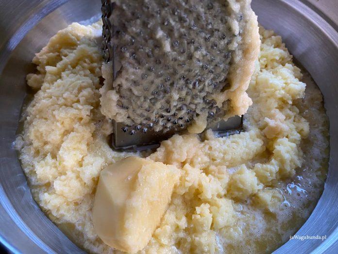 ziemniaki tarte na tarce