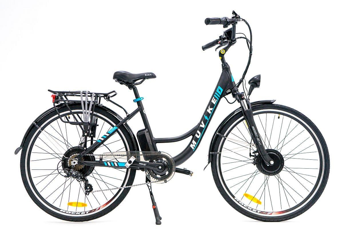 rower elektryczny miejski prezentacja