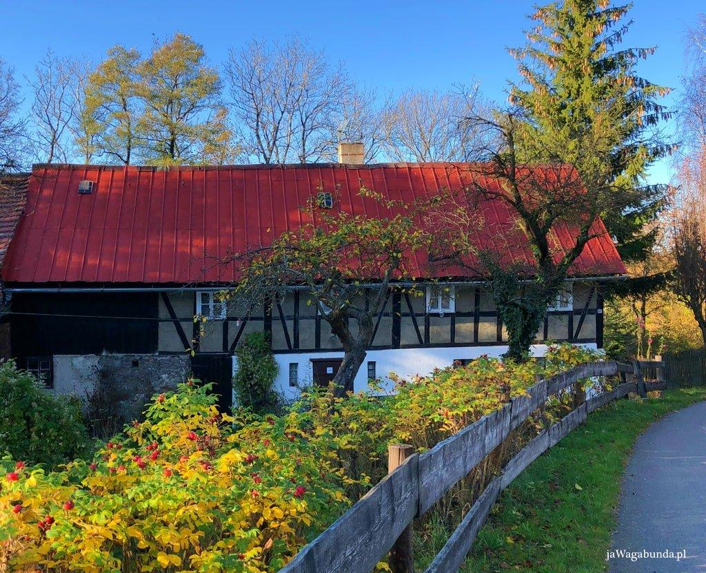 dom szachulcowy w górach izerskich