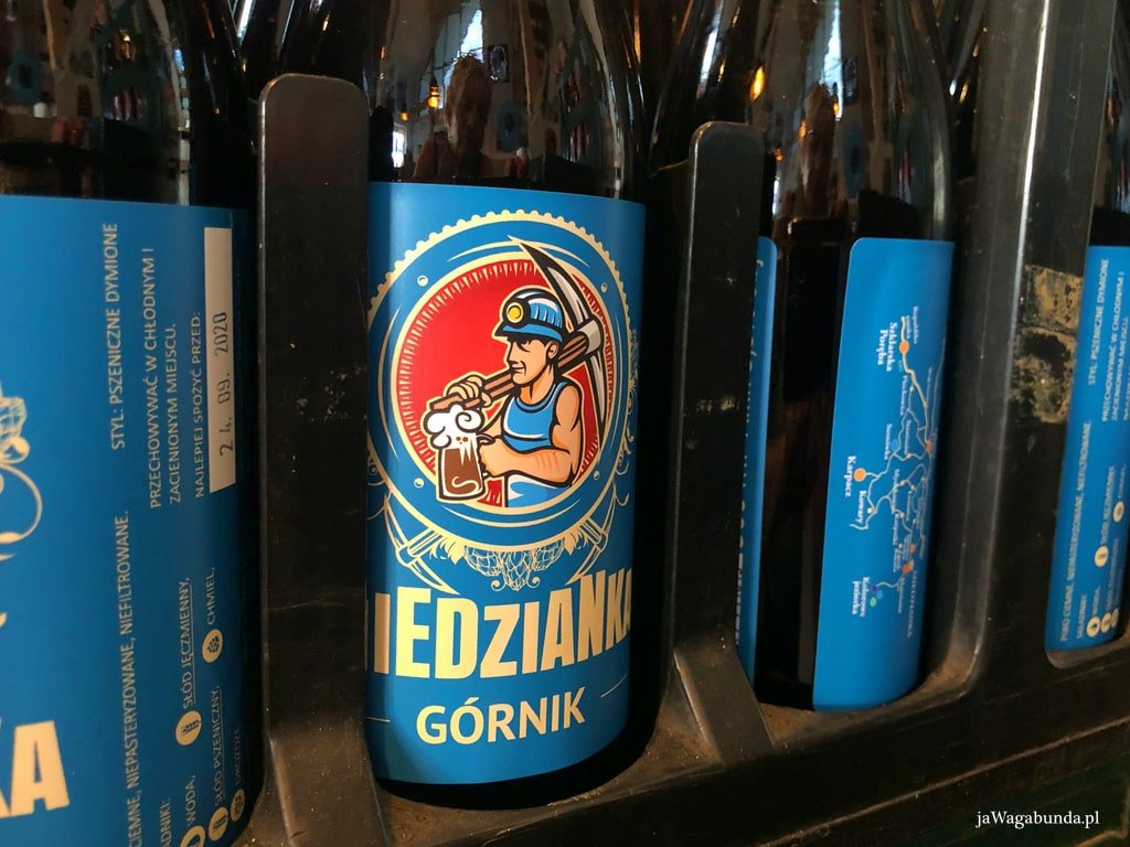 butelka z piwem Miedzianka