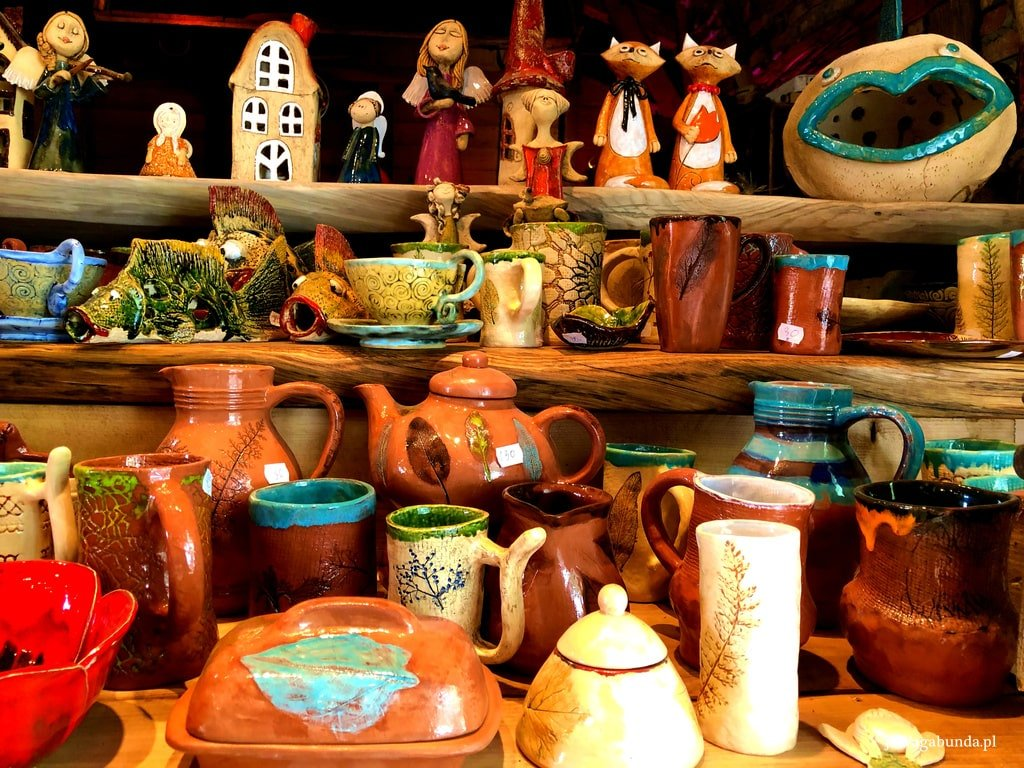 ceramika ręcznie wyrabiana i dobkowskie anioły
