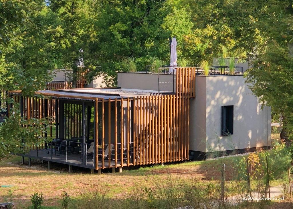 mały dom na campingu w Chorwacji